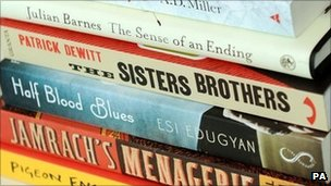 Shortlisted books for the Man Booker Prize 2011
