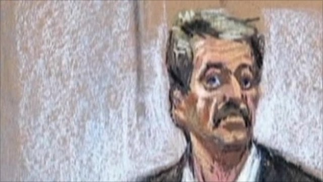 Sketch of Viktor Bout