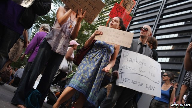 Protests at Zuccotti Park