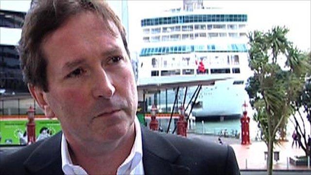 Premier Rugby chief executive Mark McCafferty