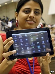 Aakash tablet computer