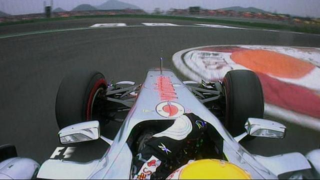 Lewis Hamilton's Korean GP pole lap