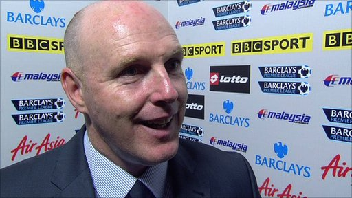 Steve Kean - Blackburn Rovers manager