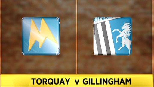 Torquay v Gillingham