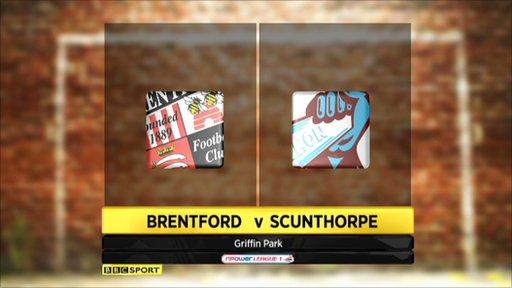 Brentford 0-0 Scunthorpe