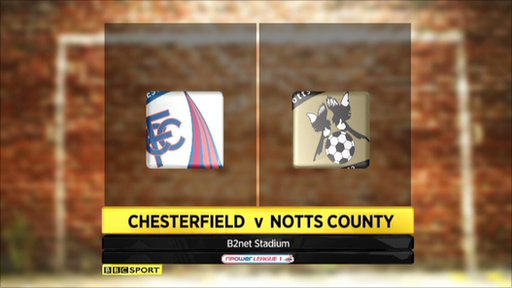 Chesterfield 1-3 Notts County