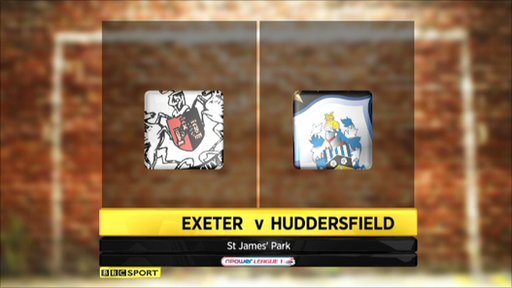 Exeter 0-4 Huddersfield