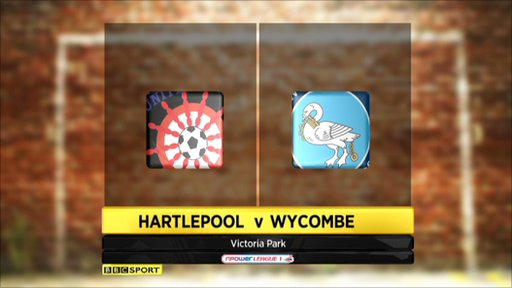 Hartlepool 1-3 Wycombe