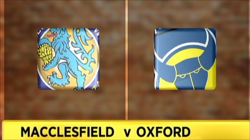Macclesfield v Oxford