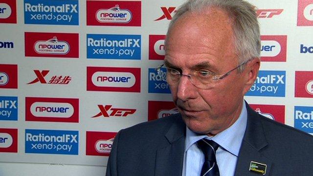 Leicester's Sven-Goran Eriksson