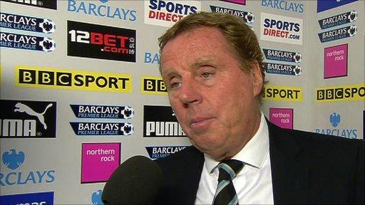 Harry Redknapp - Tottenham manager