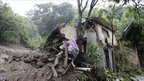 A mudslide in the Ciudad Arce department of La Libertad, about 40km (25 miles) west of San Salvador on 16 October