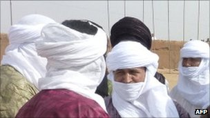 Tuareg fighters who have returned from Libya to Niger (July 2011)