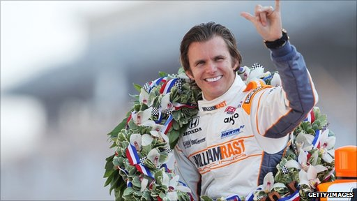 Dan Wheldon at the Indy 500 in August 2011