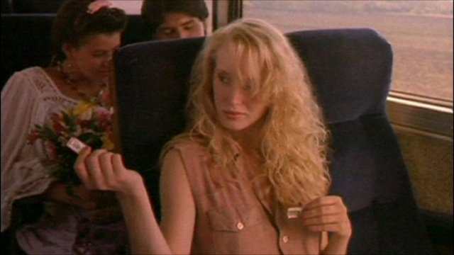 Girl in Wrigley's gum advert