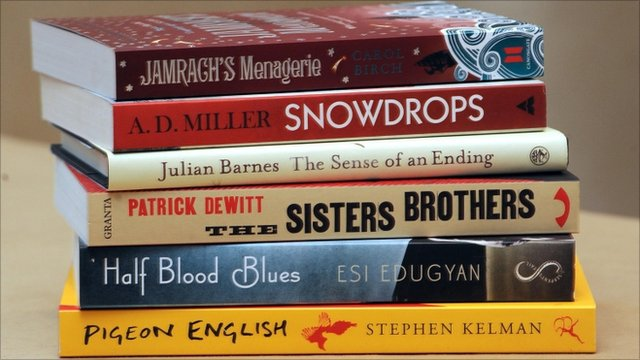 Man Booker prize nominee books