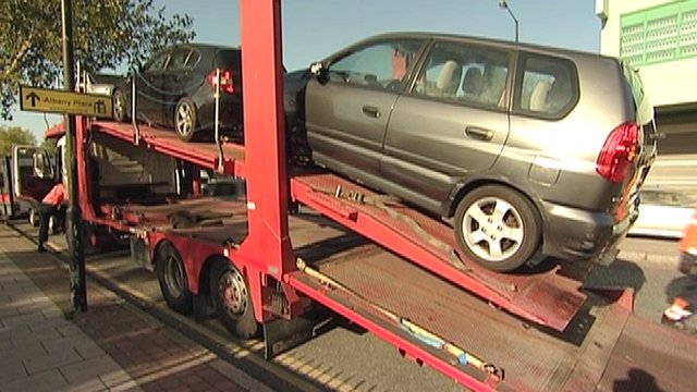 Uninsured cars impounded by the Metropolitan Police
