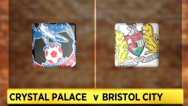 Crystal Palace 1-0 Bristol City