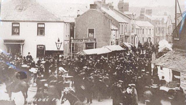 Ffair Y Borth yn 1907