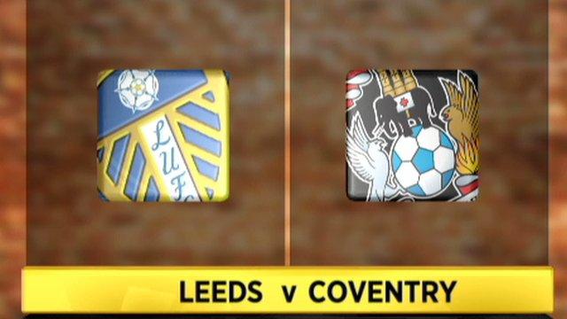Leeds 1-1 Coventry
