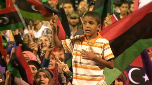 Celebrations in Tripoli