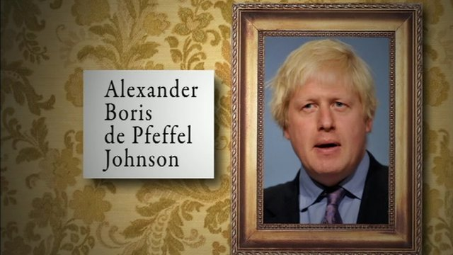 Boris Johnson graphic