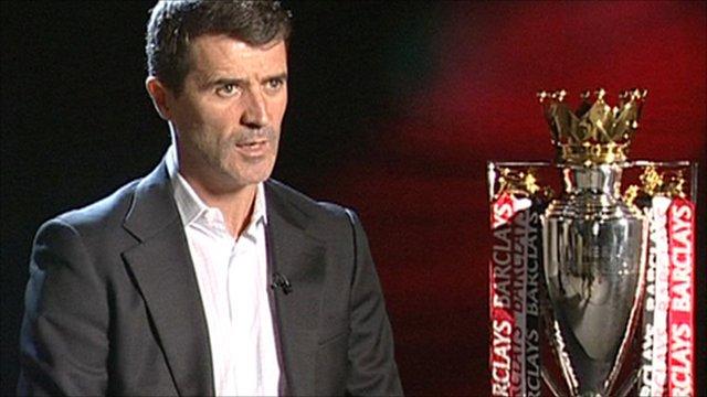 Former Manchester United captain Roy Keane