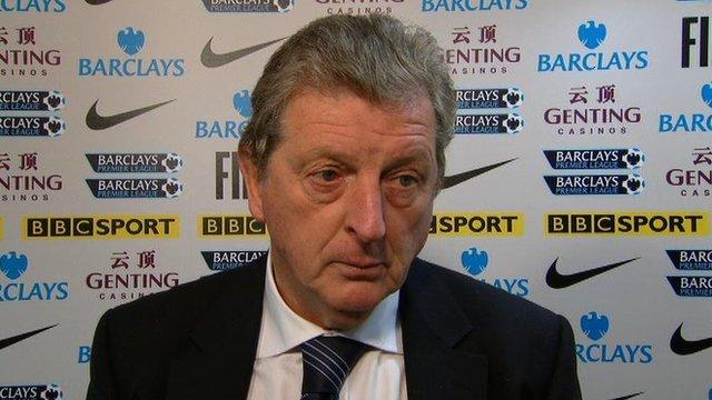 "Hodgson - ""We could have beaten an 11-man Aston Villa today"""