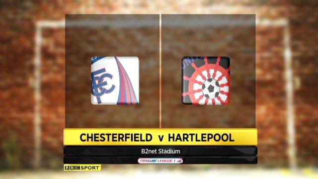 Chesterfield 2-3 Hartlepool