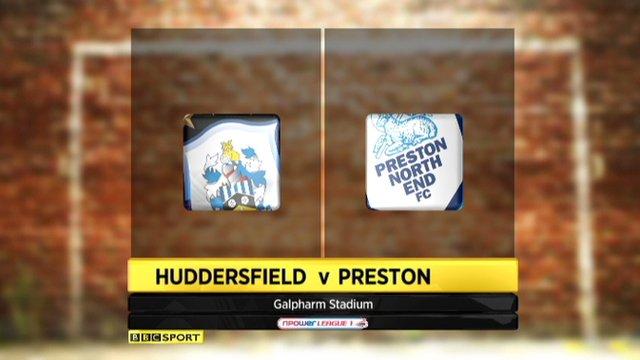 Huddersfield 3-1 Preston