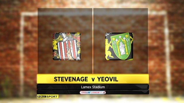 Stevenage 0-0 Yeovil