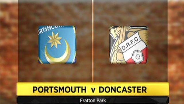 Portsmouth 3-1 Doncaster