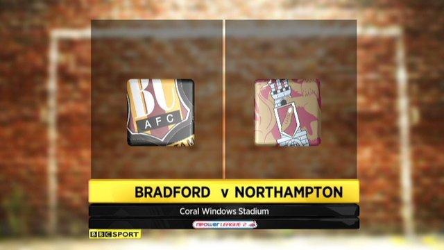 Bradford 2-1 Northampton