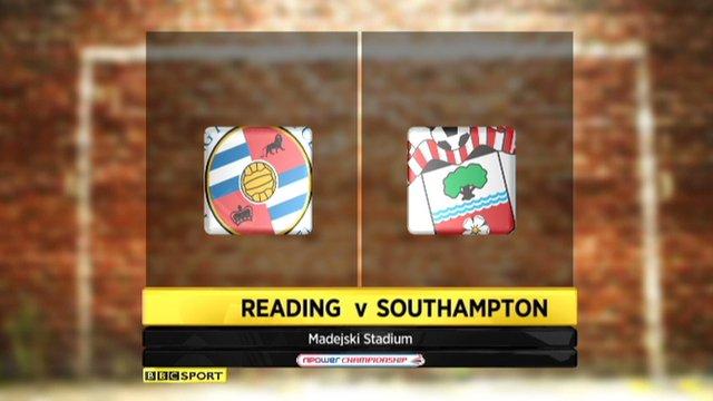 Reading 1-1 Southampton