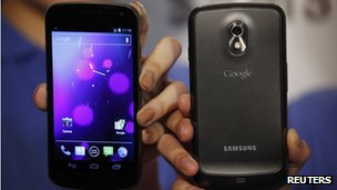 Samsung's Galaxy Nexus phones