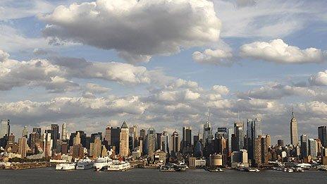 Manhattan skyline, October 2011