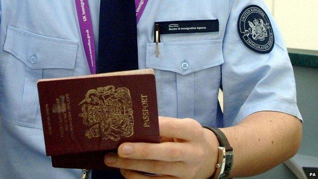 UK Customs official