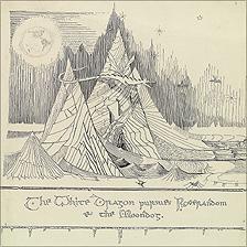 The White Dragon Pursues Roverandom & the Moondog by JRR Tolkien