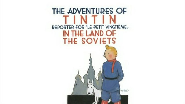 Cover of Tintin in the Land of the Soviets