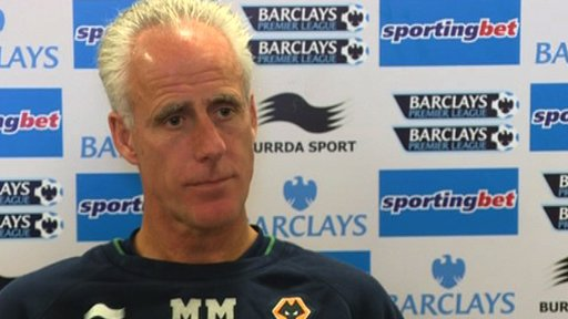 Mick McCarthy - Wolves manager