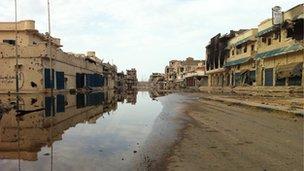 Dubai Street in Sirte