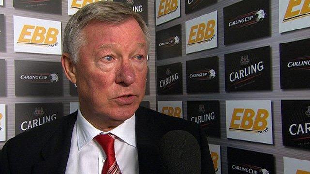 Manchester United's Sir Alex Ferguson