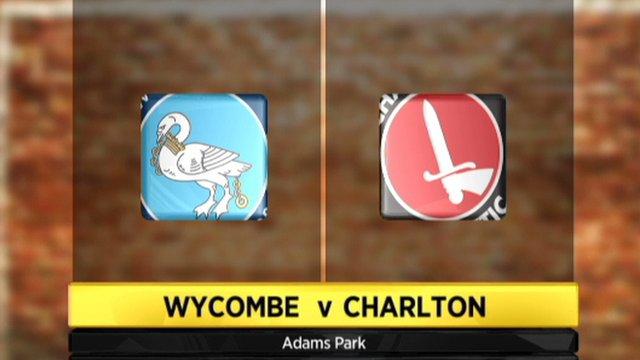 Highlights - Wycombe 1-2 Charlton