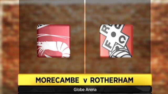 Highlights - Morecambe 3-3 Rotherham