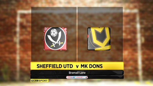 Sheffield Utd 2-1 MK Dons