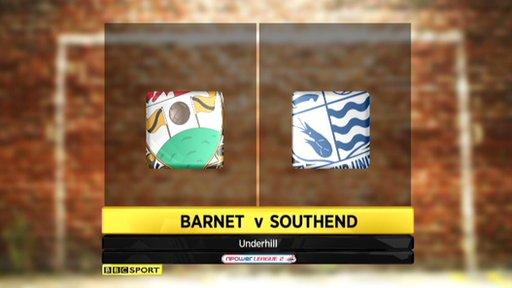 Barnet 0-3 Southend