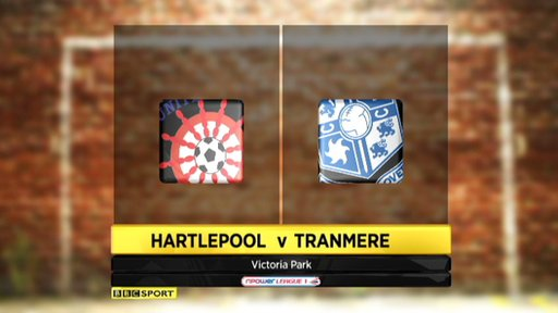 Hartlepool 0-2 Tranmere