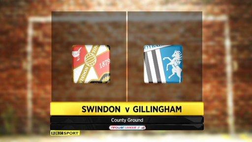 Swindon 2-0 Gillingham