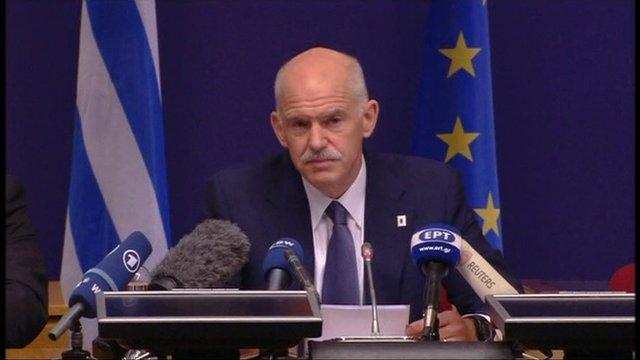 George Papandreou, Greek Prime Minister