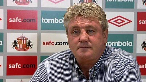 Steve Bruce - Sunderland manager